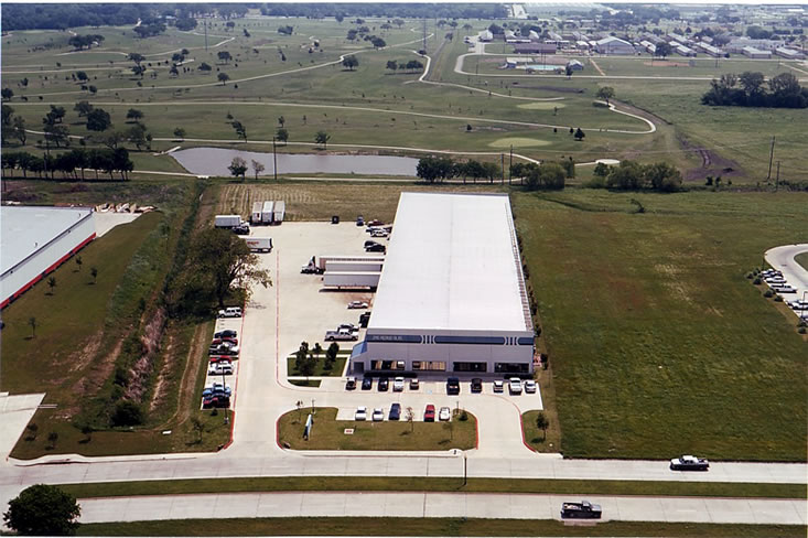 Aerial View- Kintex Warehouse Building