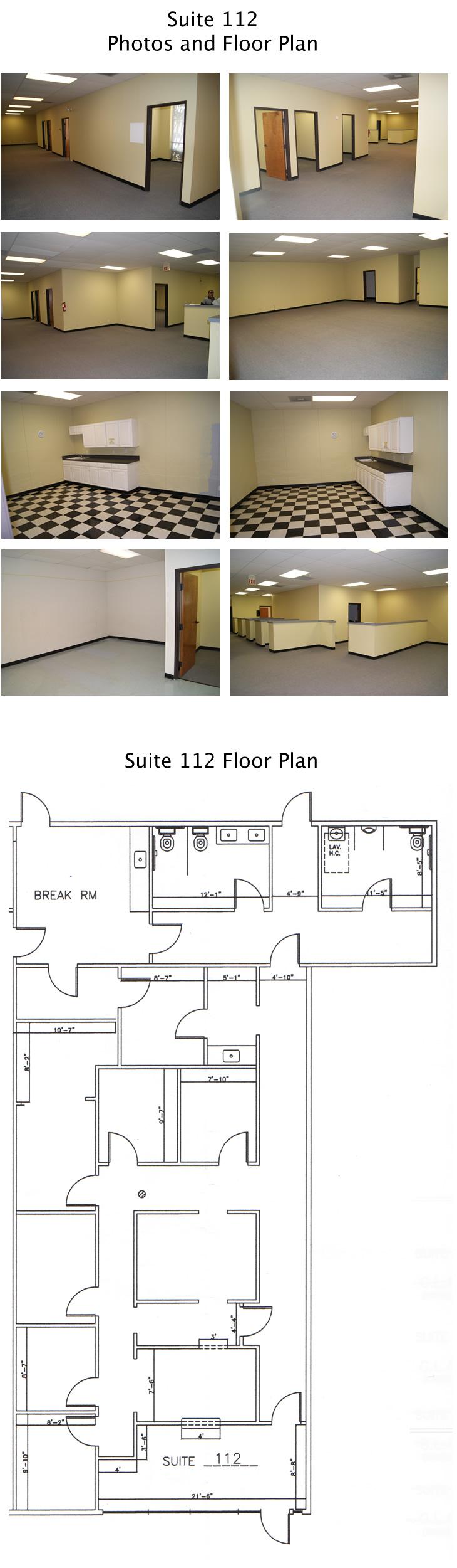 Sunrise Office Center - Suite 122/Floor plan
